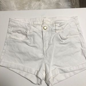2 for $20!!! White H&M shorts